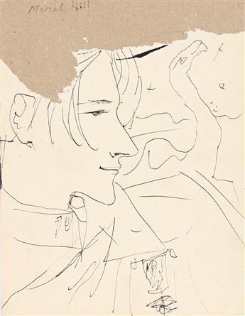 JEAN COCTEAU (1889-1963) Jean Genet * Marcel Khill * Jean Desbordes.