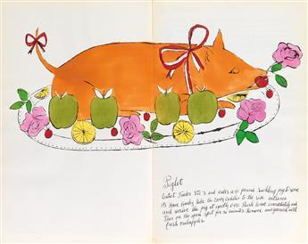 ANDY WARHOL Wild Raspberries by Andy Warhol and Suzie Frankfurt.