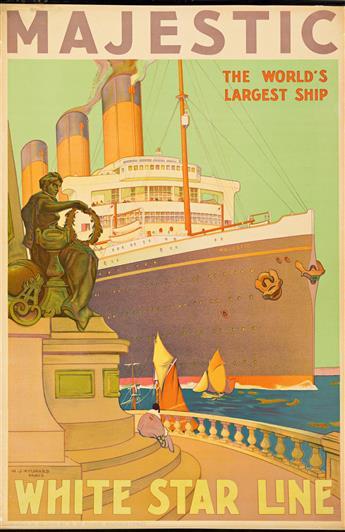William-James-Aylward-(1875-1958)--MAJESTIC--WHITE-STAR-LINE