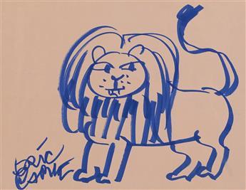 "ERIC CARLE. ""Lion."" [CHILDREN'S]"