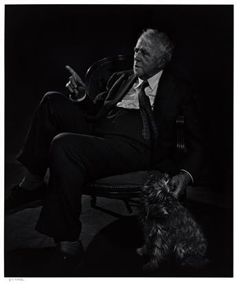 YOUSUF KARSH (1908-2002) Robert Frost.