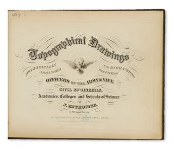 ENTHOFFER-JOSEPH-Topographical-Drawings-Methodically-Arrange