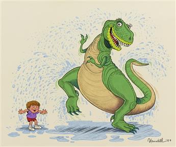 """ALLAN NEUWIRTH. """"Hooray for Dinosaur Day!"""" [CHILDR"""