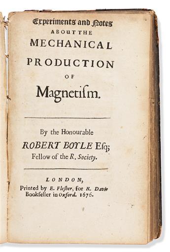 Boyle, Robert (1627-1691) Sammelband of Thirteen T