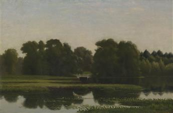 EDWARD M. BANNISTER (1828 - 1901) Morning on the R