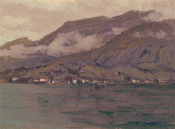 CHARLES WARREN EATON Lake Como, Italy.