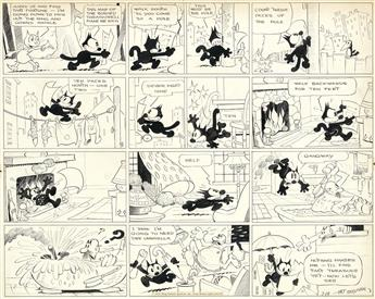 COMICS FELIX THE CAT [OTTO MESSMER.] Hurry up and find that fortune... * I cant get enough of that circus...