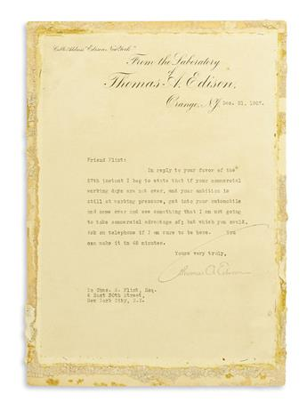 EDISON-THOMAS-A-Typed-Letter-Signed-to-IBM-founder-Charles-R