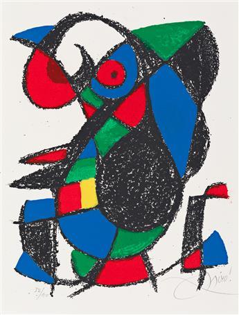 JOAN MIRÓ Miró Lithographs II.