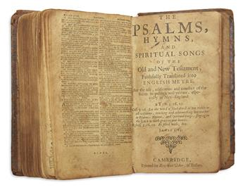 (BIBLE IN ENGLISH--PSALMS.) The Psalms, Hymns, and Spiritual Songs of the Old and New Testament,