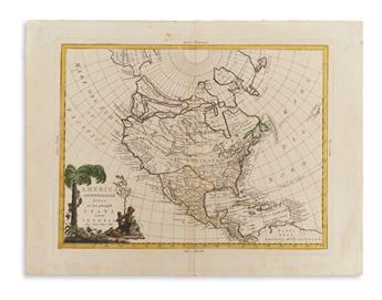 (AMERICAS.) Zatta, Antonio. Two double-page engrav