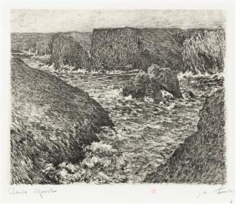 CLAUDE MONET and GEORGE W. THORNLEY La Côte sauvage.