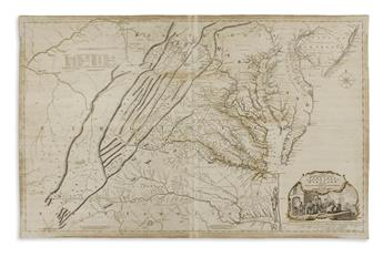FRY, JOSHUA; and JEFFERSON, PETER. A Map of the Mo