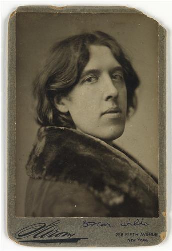 NAPOLEON SARONY (1821-1896) Oscar Wilde.