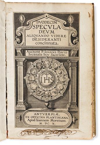 David, Joannes [Jan] (1546-1613) Duodecim Specula Deum Aliquando Videre Desideranti Concinnata.