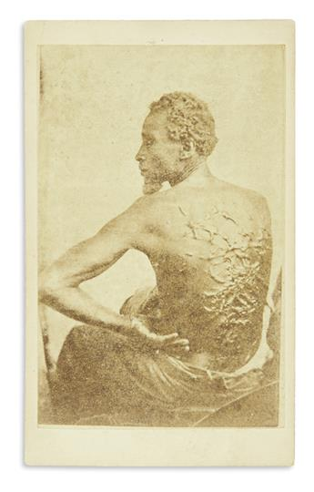 (SLAVERY AND ABOLITION.) [McPherson & Oliver; phot