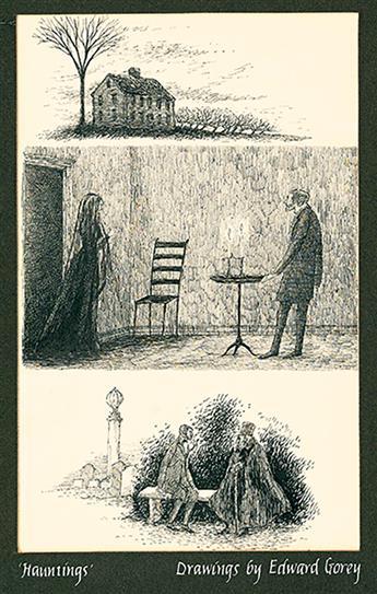 EDWARD GOREY. The Ghostly Rental