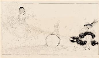 NELL BRINKLEY (1886-1944) Teeter Totter. [CARTOON / COMICS / FEMALE / EISNER AWARD]