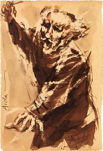 DAVID FREDENTHAL (1914-1958) Toscanini Conducting.