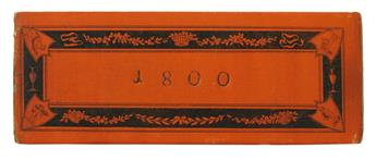ALMANAC--Grosser-Leipziger-Etui-Kalender-auf-das-Jahr-1800--