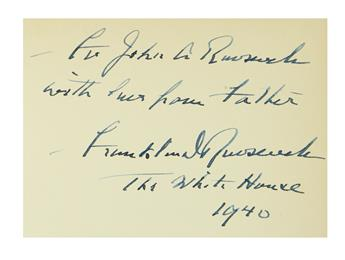 ROOSEVELT, FRANKLIN D. State of New York, Public Papers of Franklin D. Roosevelt, Forty-Eighth Governor . . . Second Term, 1932.