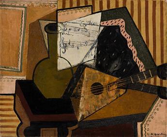 MARC STERLING (1895 - 1976, UKRAINIAN) Untitled, (Cubist Still Life).