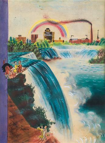 (THE NEW YORKER) HARRY BROWN. Niagara Falls.