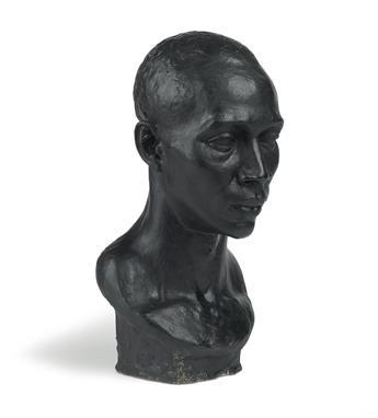 RICHMOND BARTHÉ (1909 - 1989) Untitled (Head of a Man).