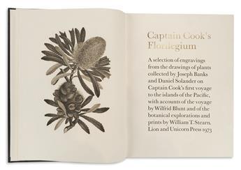 (BOTANICAL.) Blunt, Wilfrid; and Stearn, William T. (eds.) Captain Cooks Florilegium.