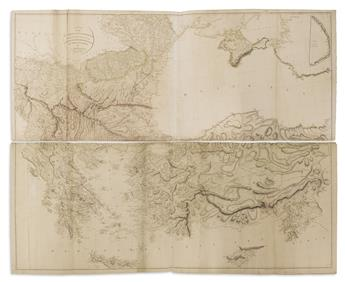 ARROWSMITH, AARON. A Map of the Environs of Consta