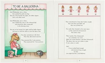 """JOAN WALSH ANGLUND (1926-2021) """"To Be A Ballerina."""" [CHILDRENS / BALLET]"""