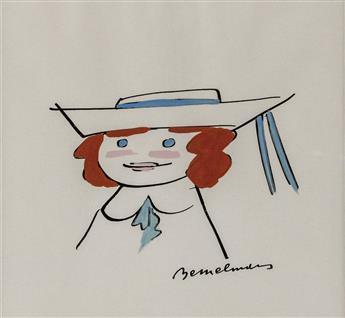 LUDWIG BEMELMANS. Portrait of Madeline. [CHILDREN'