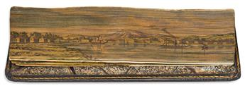 (FORE-EDGE PAINTING.) Drummond, William. The Poems.