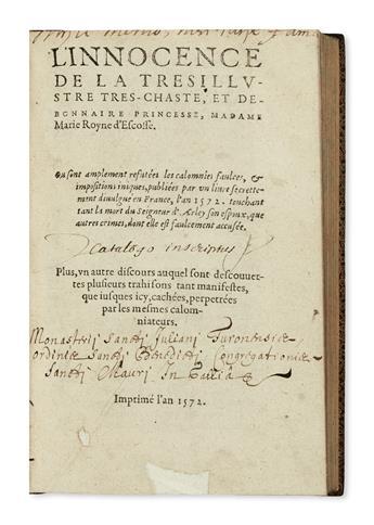 MARY-Queen-of-Scots--[Belleforest-François-de-mistakenly-att