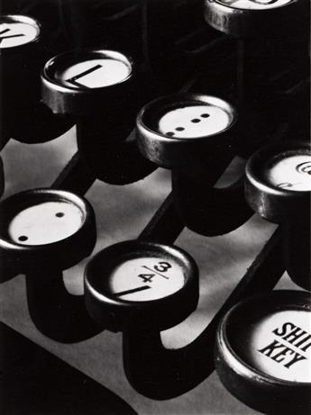 RALPH STEINER (1899-1986) Typewriter Keys.
