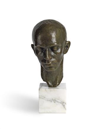 RICHMOND BARTHÉ (1909 - 1989) Head of a Dancer (Harald Kreutzberg).