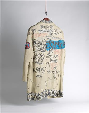 JEAN-MICHEL BASQUIAT, STEPHEN SPROUSE AND OTHERS Graffiti Jacket.