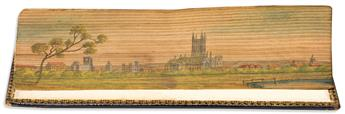 (FORE-EDGE PAINTING.) The Curate of Holycross. A Tale.