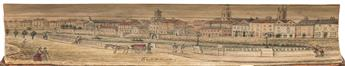 (FORE-EDGE PAINTING.) Haydn, Joseph. Dictionary of Dates, and Universal Reference, Relating to All Ages and Nations.