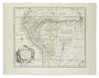 (SOUTH-AMERICA)-Bowen-Emanuel-Group-of-3-double-page-engrave