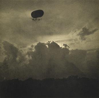 ALFRED STIEGLITZ (1864-1946) Dirigible * Aeroplane.