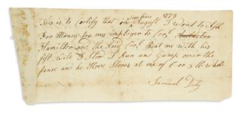(AMERICAN-REVOLUTION--1778)-Testimony-that-Alexander-Hamilto