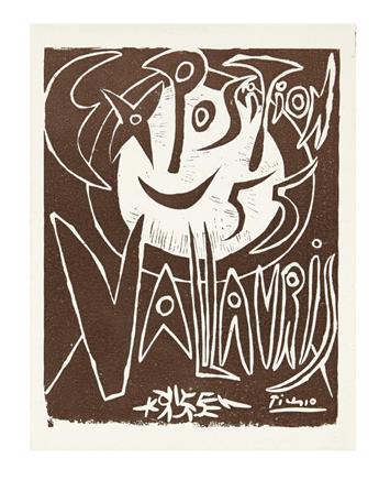 PICASSO, PABLO. Exposition Vallauris.