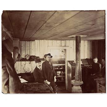 (WEST.) Agnes B. Chamberlin. Memoir of an entrepreneurial woman in early Cody, Wyoming.