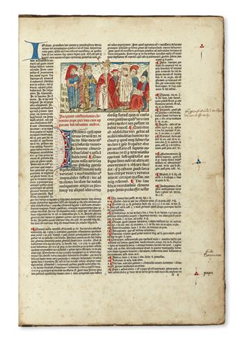 INCUNABULA  CLEMENS V, Pope. Constitutiones.  1482