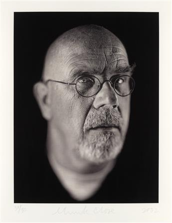 CHUCK CLOSE Self Portrait Portfolio.
