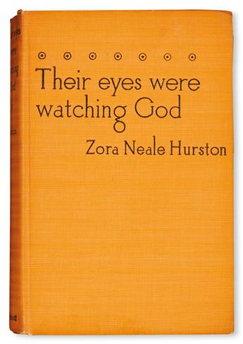 (LITERATURE AND POETRY.) HURSTON, ZORA NEALE. Their Eyes Were Watching God.