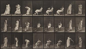 EADWEARD MUYBRIDGE (1830-1904) A group of 3 plates from Animal Locomotion all depicting women, including plates 204, 407, and 518.