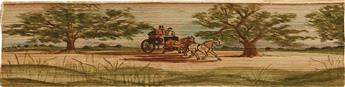 (FORE-EDGE-PAINTING)-Longfellow-Henry-Wadsworth-The-Poetical