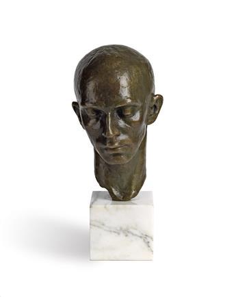 RICHMOND BARTHÉ (1901 - 1989) Head of a Dancer (Harald Kreutzberg).